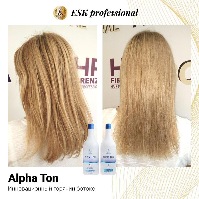 Горячий ботокс для волос alpha ton отзывы