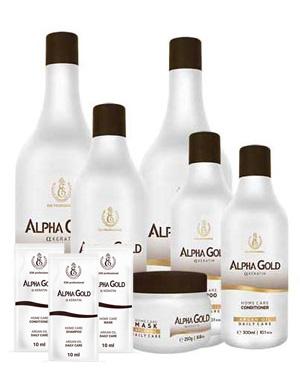Выпрямление волос без формола и едкого запаха Alpha Gold