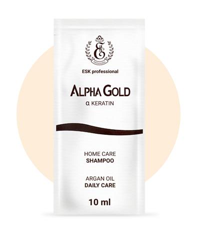 Шампунь Alpha Gold в саше